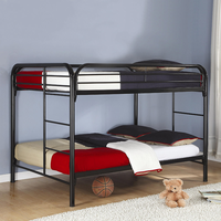 Coaster Furniture 460056K - Full/Full Bunk Bed (Glossy Black)