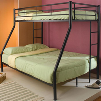 Coaster Furniture 460062B - Twin/Full Bunk Bed (Black)