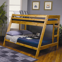Coaster Furniture 460093 - Twin/Full Bunk Bed (Amber Wash)
