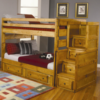 Coaster Furniture 460096 - Full/Full Bunk Bed (Amber Wash)