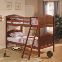 Coaster Furniture 460203 - Twin/Twin Bunk Bed (Brown Pine)