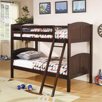 Coaster Furniture 460213 - Twin/Twin Bunk Bed (Cappuccino)