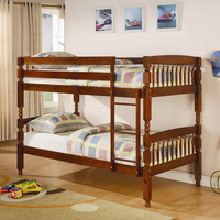 Coaster Furniture 460223 - Twin/Twin Bunk Bed (Medium Pine)