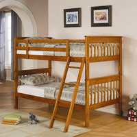 Coaster Furniture 460233 - Twin/Twin Bunk Bed (Distressed Pine)