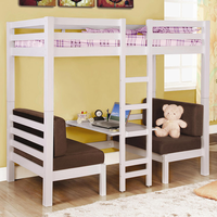 Coaster Furniture 460273 - T/T Convertible Loft Bed (Clean White)