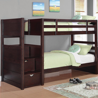 Coaster Furniture 460441 - Elliott Twin/Twin Bunk Bed (Cappuccino)