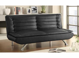 Coaster Furniture - 500055 - SOFA BED (BLACK)