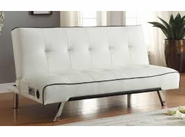 Coaster Furniture - 500138 - BLUETOOTH SOFA BED (WHITE)