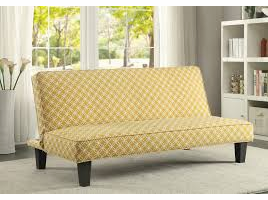 Coaster Furniture - 500166 - SOFA BED (MUSTARD)