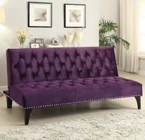 Coaster Furniture - 500235 - SOFA BED (PURPLE)