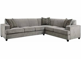 Coaster Furniture - 500727 - SECTIONAL (GREY)