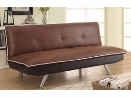 Coaster Furniture - 500752 - SOFA BED (CHOCOLATE/DARK BROWN)