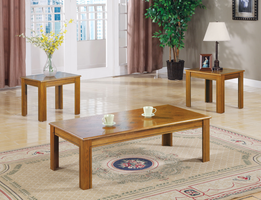 Coaster Furniture 5168 - 3pc Occasional Set (Classic Parquet)