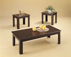 Coaster Furniture 5169 - 3pc Occasional Set (Black Oak)