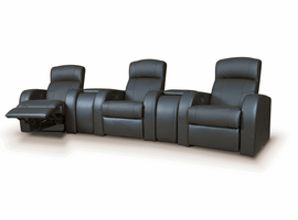 Coaster Furniture 600001 - Cyrus Recliner (Black)