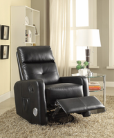 Coaster Furniture - 600054 - SWIVEL GLIDER RECLINER (BLACK)