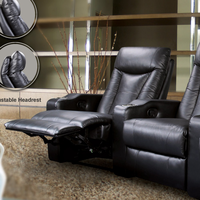 Coaster Furniture 600130LR - Left Recliner (Black)