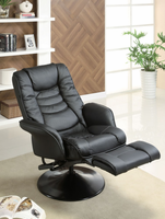 Coaster Furniture 600229 - Recliner (Black)