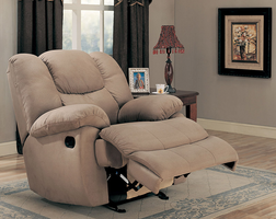 Coaster Furniture 600249 - Rocker Recliner (Beige)