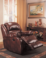 Coaster Furniture 600258 - Glider Recliner (Brown)