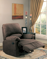 Coaster Furniture 600266 - Recliner (Chocolate)