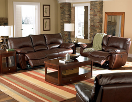 Coaster Furniture - 600283P - POWER RECLINER (DARK BROWN)