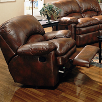 Coaster Furniture 600333 - Walter Rocker Recliner (Brown)