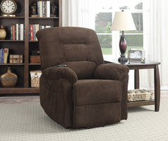Coaster Furniture - 600397 - POWER LIFT RECLINER (CHOCOLATE)