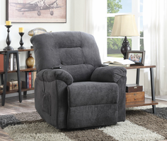 Coaster Furniture - 600398 - POWER LIFT RECLINER (CHARCOAL)