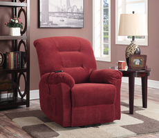 Coaster Furniture - 600400 - POWER LIFT RECLINER (BRICK RED)
