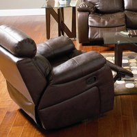 Coaster Furniture 600563 - Denisa Rocker Recliner (Brown)