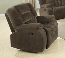 Coaster Furniture - 600993 - GLIDER RECLINER (BROWN SAGE)