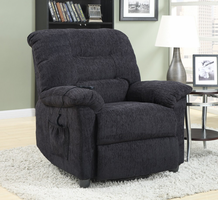 Coaster Furniture - 601015 - POWER LIFT RECLINER (DEEP GREY)