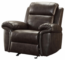 Coaster Furniture 601043 - Gideon Glider Recliner (Two Tone Brown)