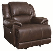 Coaster Furniture 601183 - Mackenzie Glider Recliner (Chestnut)