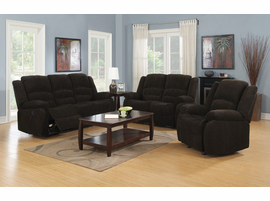 Coaster Furniture - 601463 - GLIDER RECLINER (DARK BROWN)