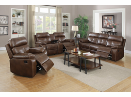 Coaster Furniture - 601693 - RECLINER (BROWN)