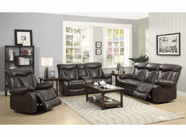 Coaster Furniture - 601713 - MOTION RECLINER (DARK BROWN)
