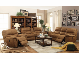 Coaster Furniture - 601763P - POWER RECLINER (LIGHT BROWN)