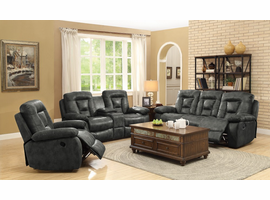 Coaster Furniture - 601869 - GLIDER RECLINER (CHARCOAL)