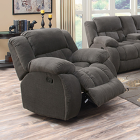 Coaster Furniture - 601923 - GLIDER RECLINER (CHARCOAL)
