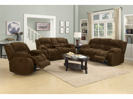 Coaster Furniture - 601926 - GLIDER RECLINER (BROWN)