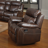 Coaster Furniture - 603023 - GLIDER RECLINER (CHESTNUT)
