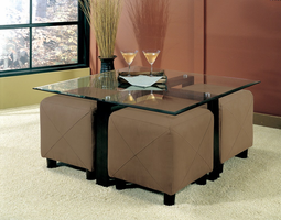 Coaster Furniture 700026 - Coffee Table (Black)