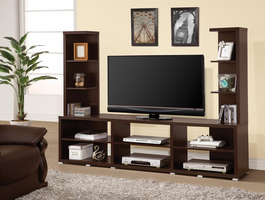Coaster Furniture - 700034 - ENTERTAINMENT UNIT (CAPPUCCINO)