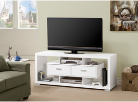 Coaster Furniture - 700113 - TV CONSOLE (WHITE)