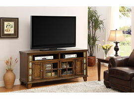 Coaster Furniture - 700195 - TV CONSOLE (HONEY BROWN)
