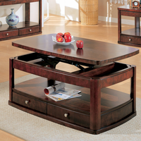 Coaster Furniture 700248 - Coffee Table (Cherry)