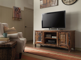 Coaster Furniture - 700303 - TV CONSOLE (RECLAIMED WOOD)