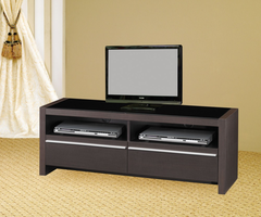 Coaster Furniture - 700649 - TV CONSOLE (CAPPUCCINO)